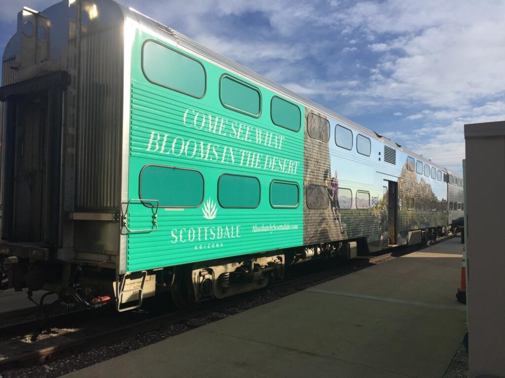 Scottsdale Train Wrap 2018